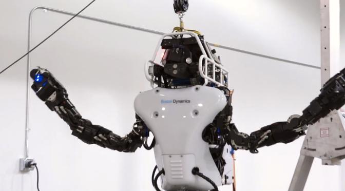 DARPA's updated ATLAS robot runs on battery, is even more badass