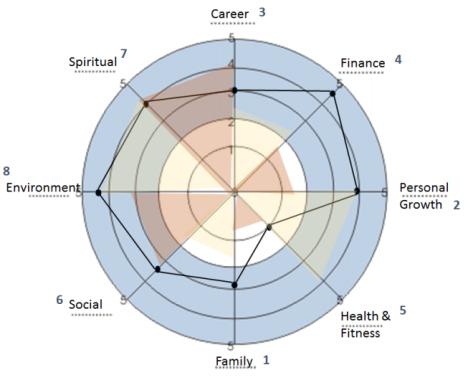 life wheel that career girl