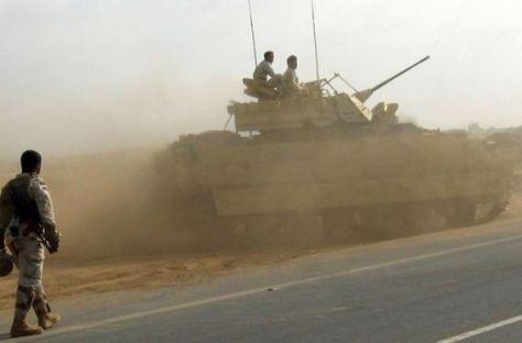 Yemen-tank