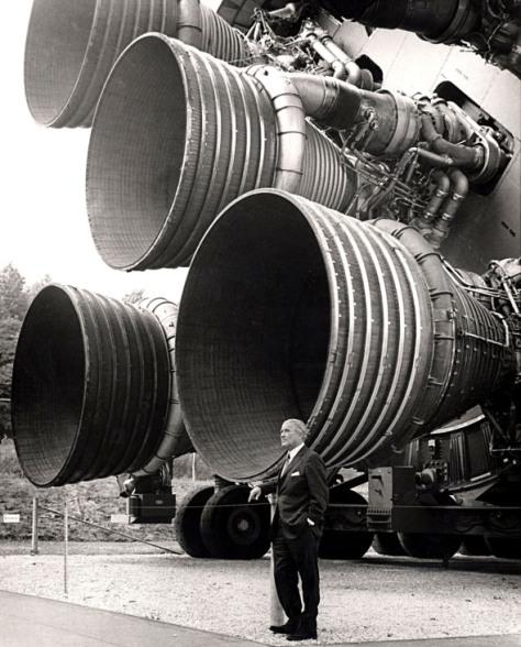Wernher von Braun-SaturnV