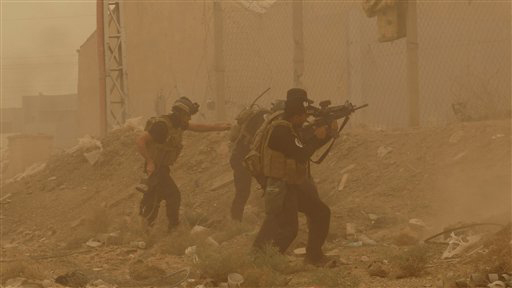 ISIS Suicide Attacks Against Iraqi Army Kill 17
