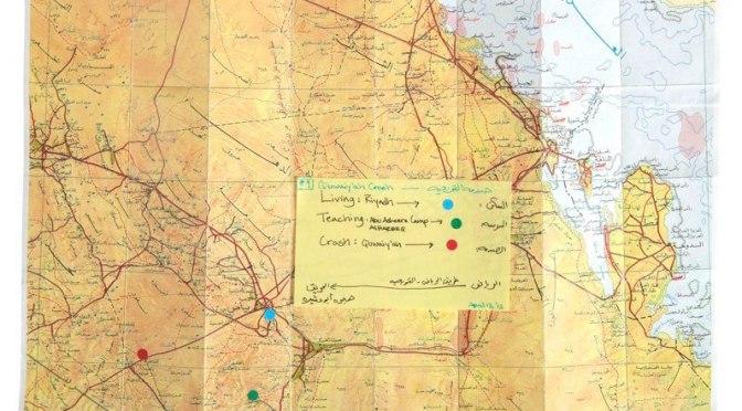 This artist mapped the strange phenomenon of women dying on Saudi Arabian highways