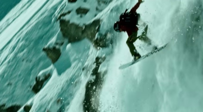 Watch: Ralph Backstrom Stunt Doubling for Edgar Ramirez (Bodhi) For The Remake of Point Break