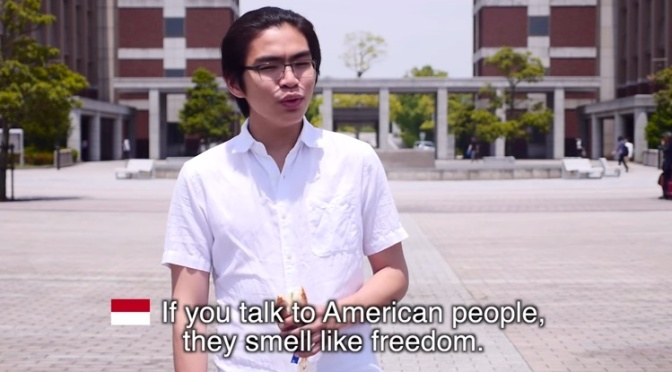 The rest of the world explains how they distinguish Americans from everyone else