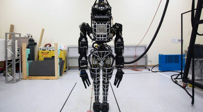 Time to hide: Google's humanoid robot can now walk outside on its own