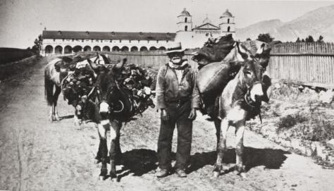 Don Diego Guiterrez Santa Barbara Mission 1887.