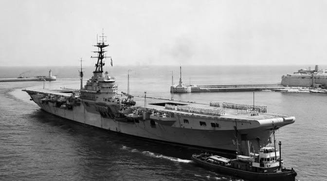HMS TRIUMPH 1947