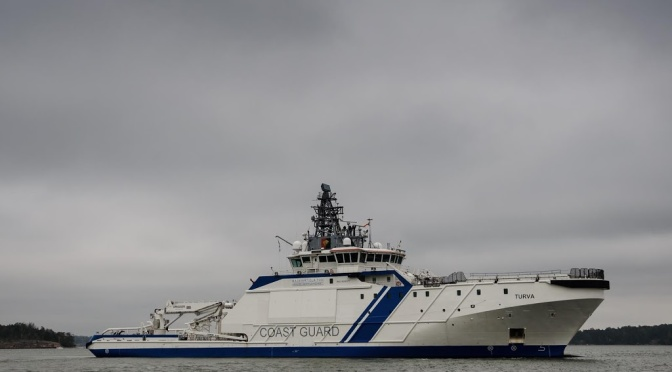 Turva is a Finnish offshore patrol vessel