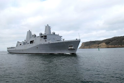 USS New Orleans arrives in Sri Lanka