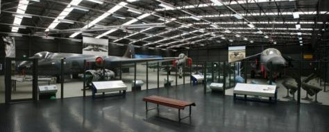 RAAF Museum Strike/Recce Hangar Canberra F-4E F-111G