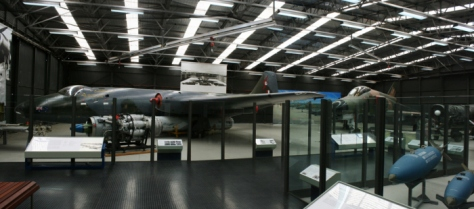 RAAF Museum Strike/Recce Hangar - Canberra bomber, F-4E Phantom II Point Cook